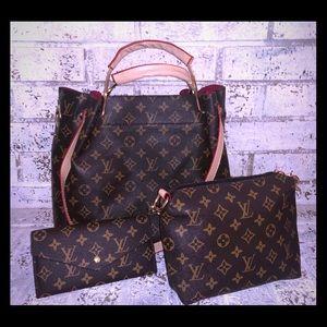 LV handbag 3piece bundle